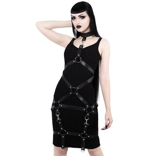 Killstar Pencil Dress - Locked Away