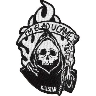 Killstar Iron-On Patch - Reaper