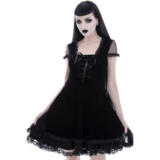 Killstar Velvet Dress - Delora
