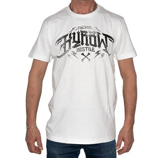 Hyraw T-Shirt - Noir Logo White