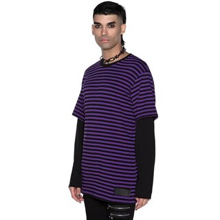 Killstar Long Sleeve T-Shirt - Maxen Plum