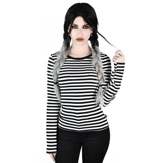 Killstar Long Sleeve T-Shirt - Jett White