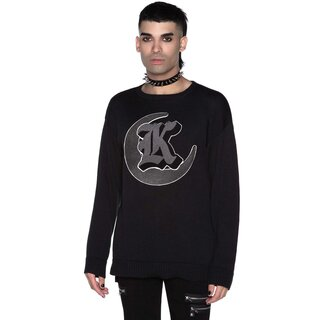 Killstar Knit Sweater - College Goth