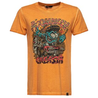 King Kerosin T-Shirt - Rockabilly Grease